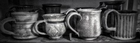 Mugs B&W