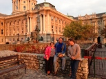 Budapest Hungary, with friends.