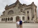 Constanta Romania with my friend Dave Mason.