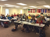 Louisville DTS Students in class.