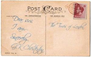 chesterton-i-am-postcard