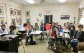 Korean-American students in Palisades, NJ.