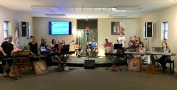 Some of our Arts School students here in YWAM, West Virginia.